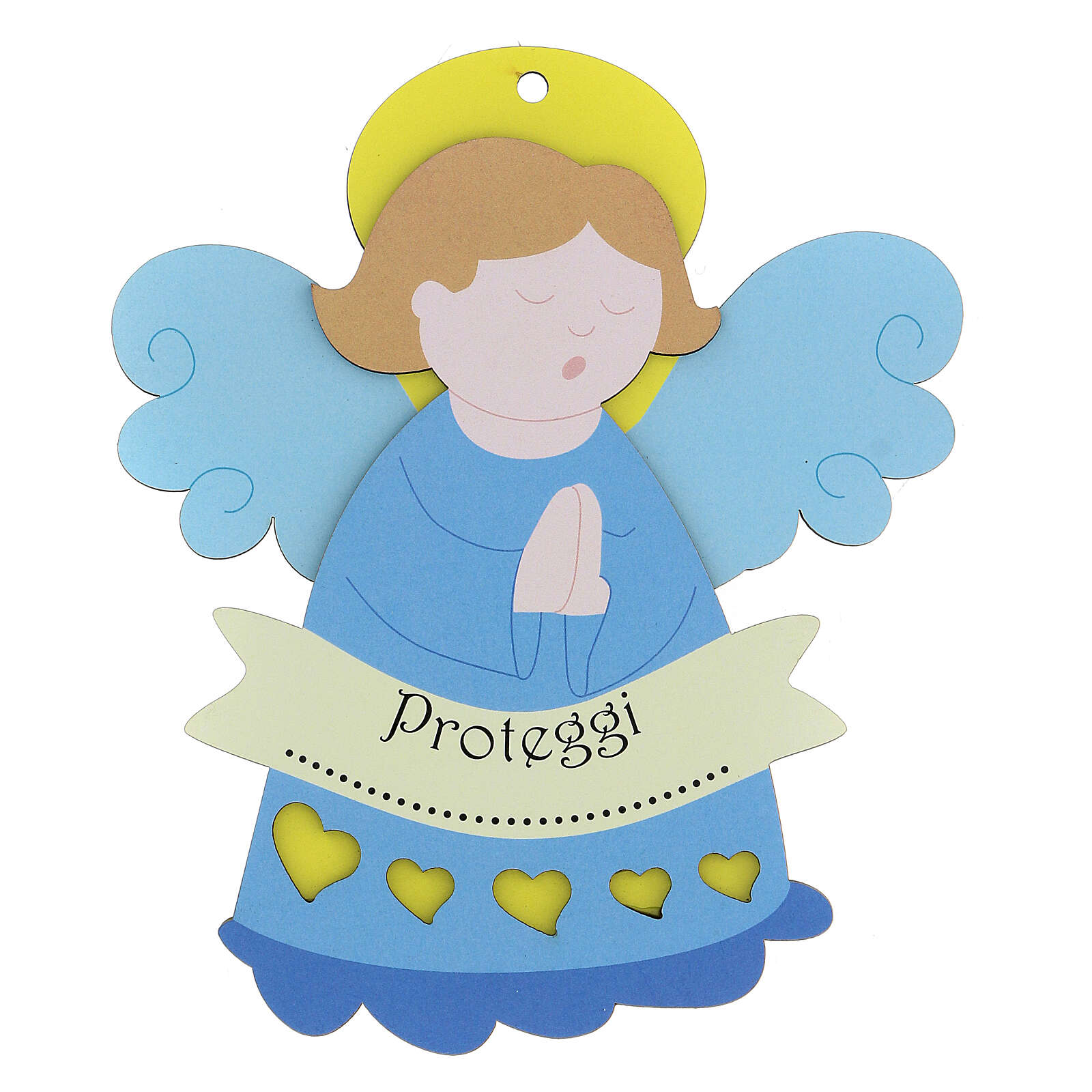 Angelito azul de colgar 3