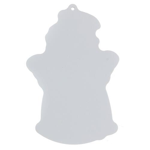 Icono perfilado ángel oración niña 4