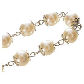 Ten pearlette  beads rosary bracelet s3