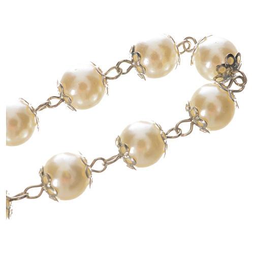 Ten pearlette  beads rosary bracelet 3