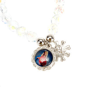 Crystal bracelet with image s3