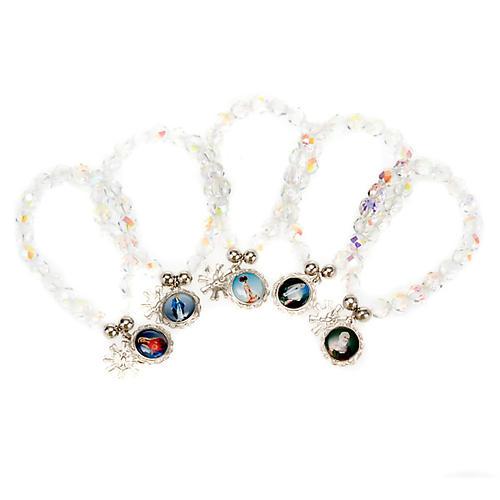 Crystal bracelet with image 1