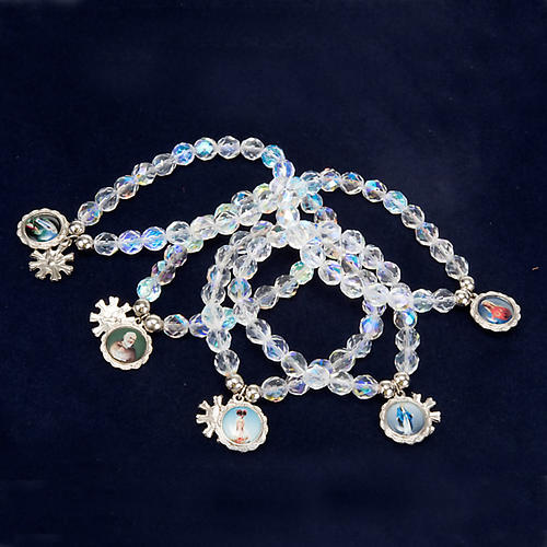 Crystal bracelet with image 8