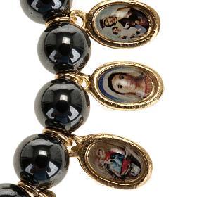 Multi-image hematite bracelet s2