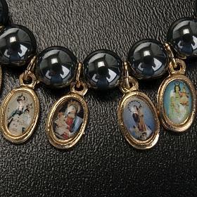 Multi-image hematite bracelet s4