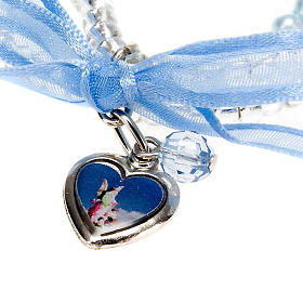 Heart and angels bracelet for babies s3