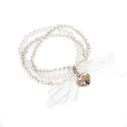 Heart and angels bracelet for babies 5