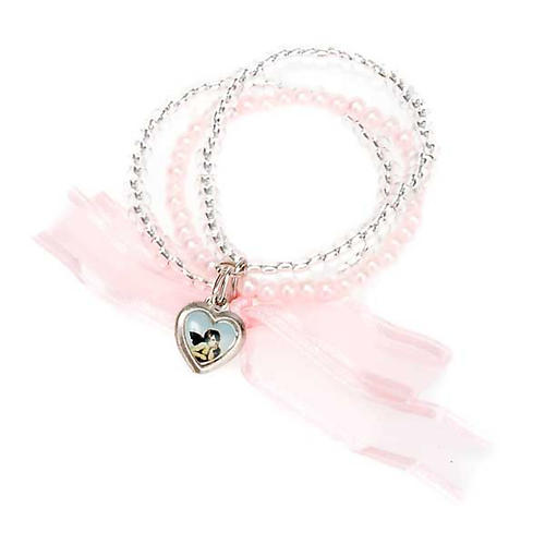 Heart and angels bracelet for babies 7