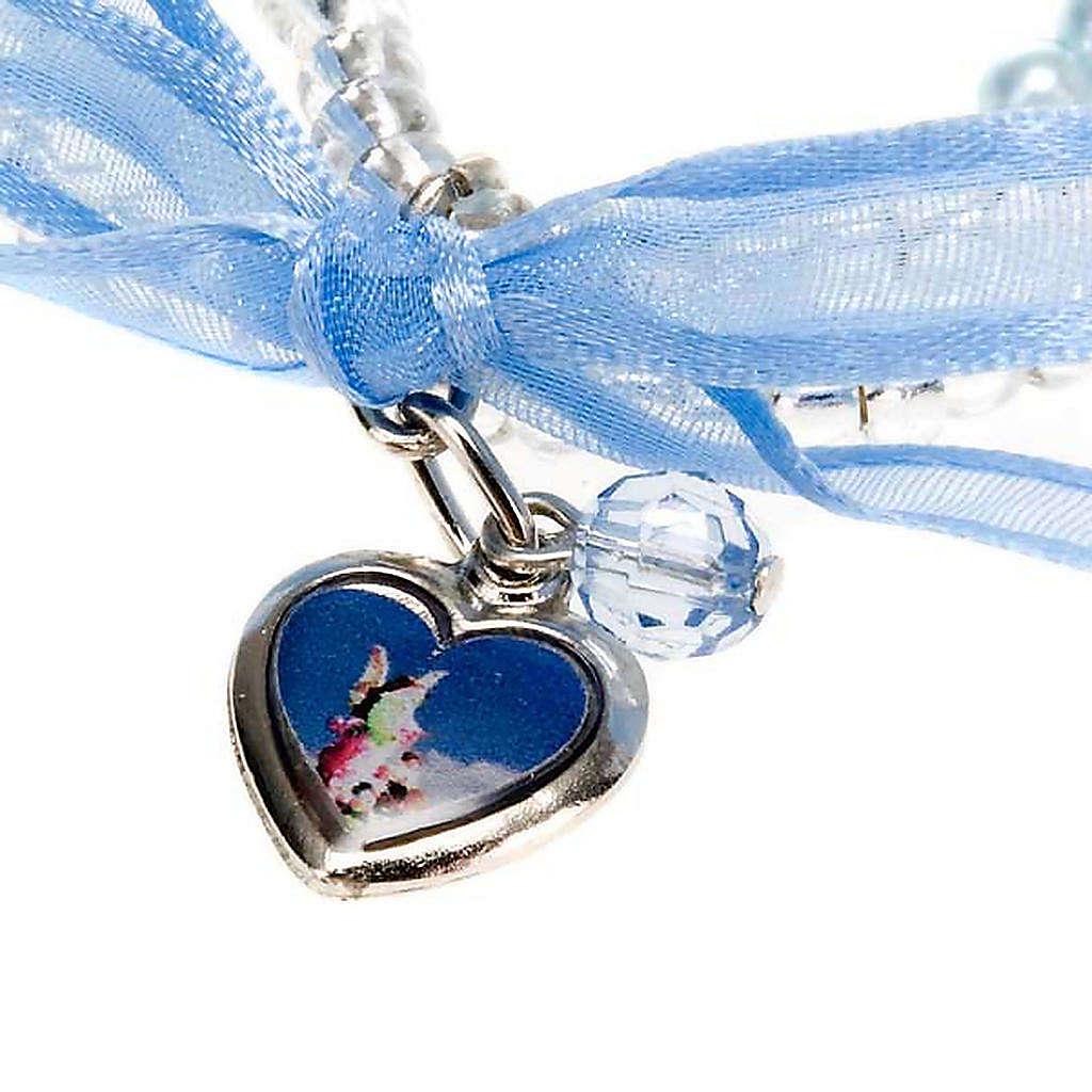 Pulsera recién nacido corazón 4
