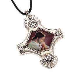 Croix pendentif, image  paillettes s3