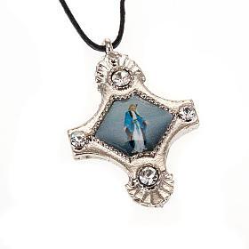 Croix pendentif, image  paillettes s5