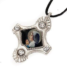 Croix pendentif, image  paillettes s6