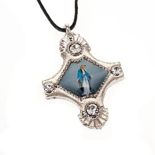 Croix pendentif, image  paillettes 5