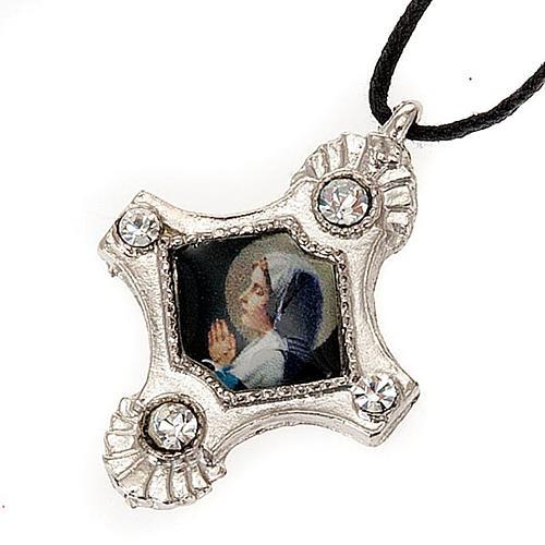 Croix pendentif, image  paillettes 6