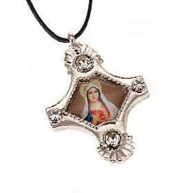 Pendant with strass cross s4