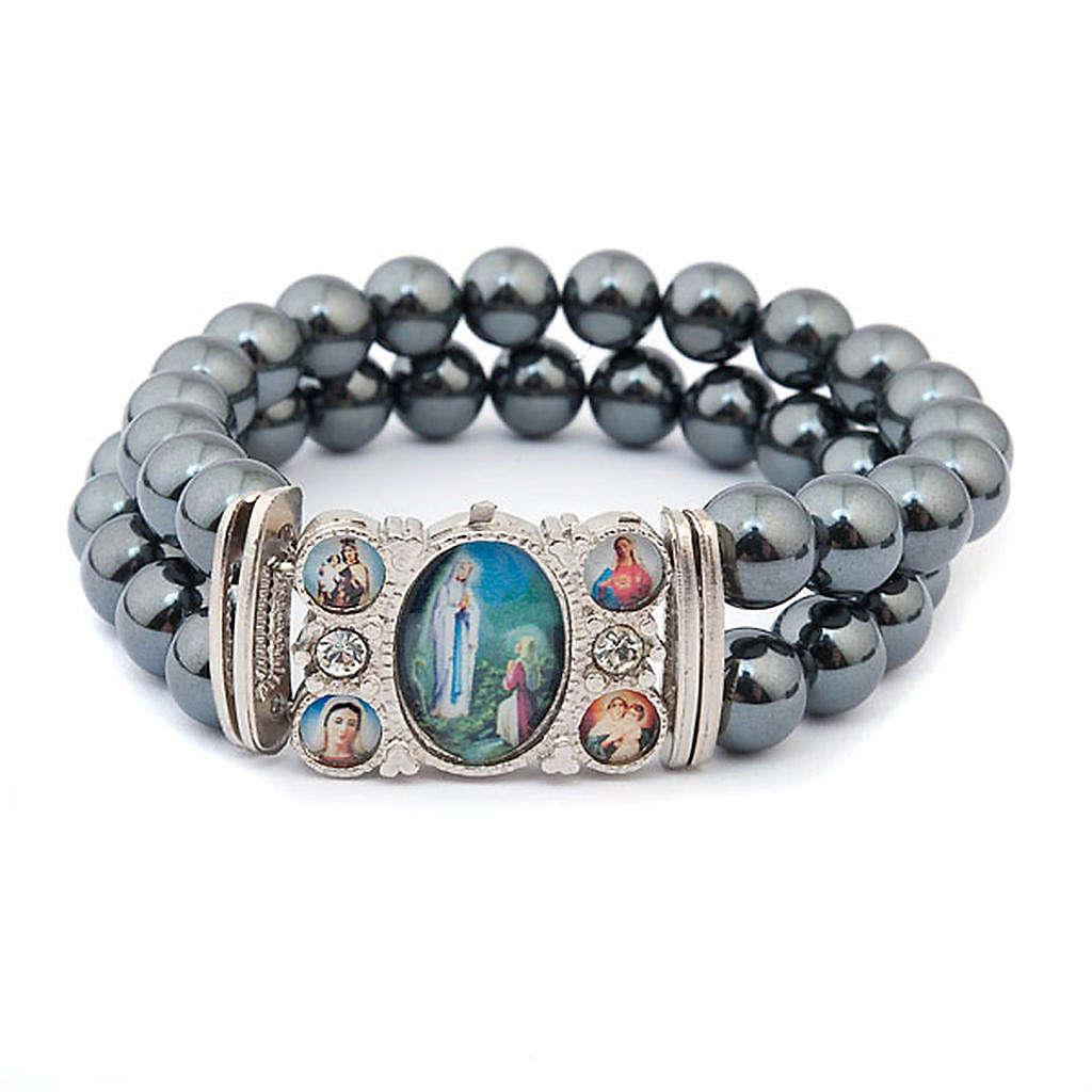 Bracelet, images, hématite 4
