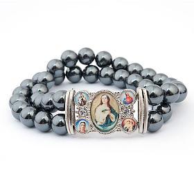 Bracelet, images, hématite s2
