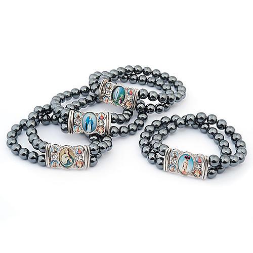 Bracelet, images, hématite 1