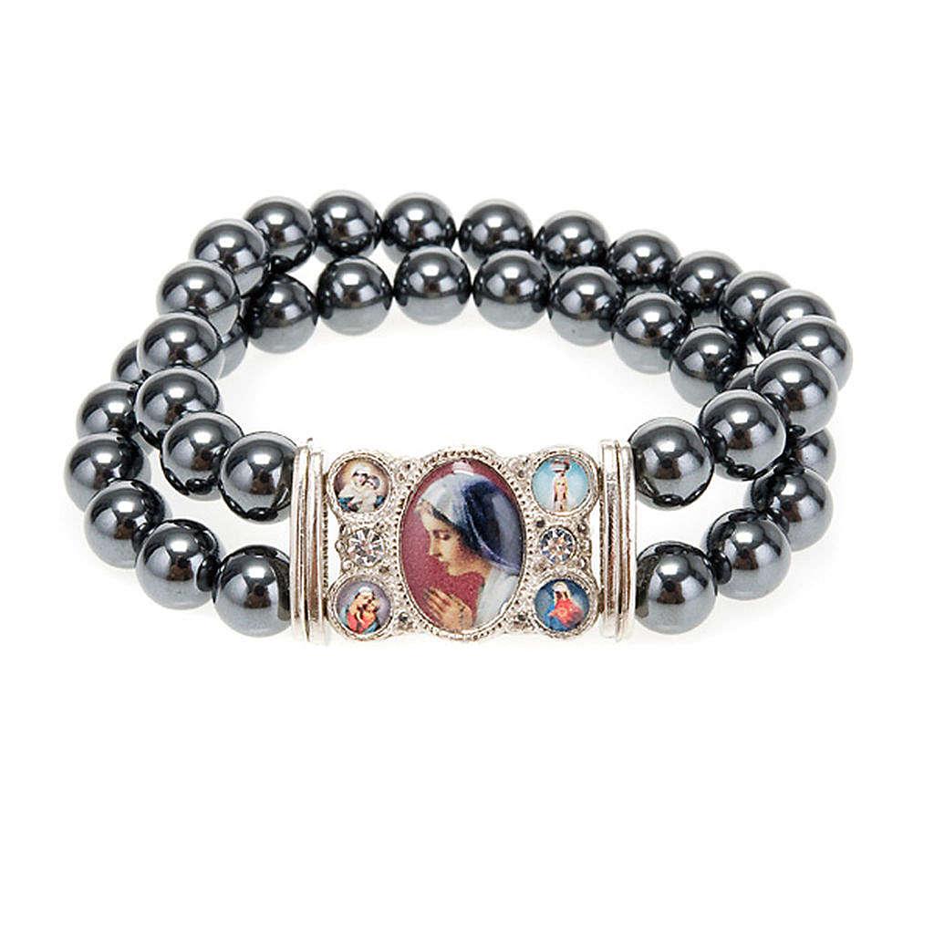 Hematite multi-image bracelet 4