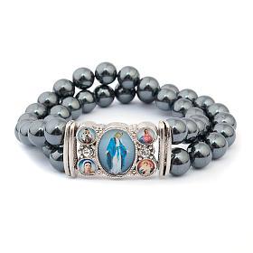 Hematite multi-image bracelet s3