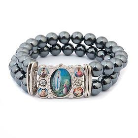 Hematite multi-image bracelet s4