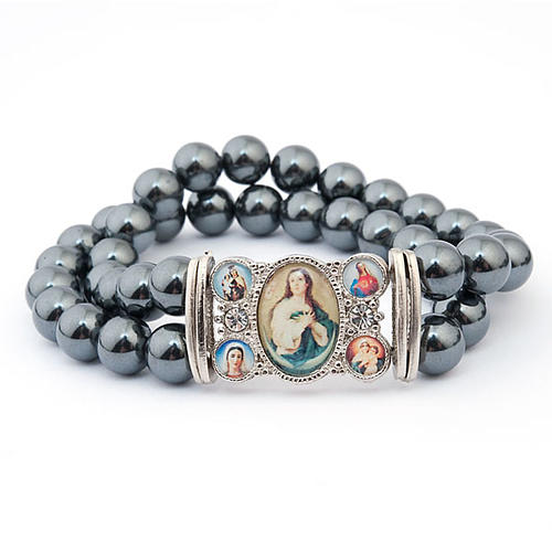 Hematite multi-image bracelet 2