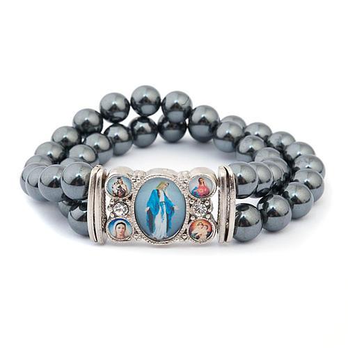 Hematite multi-image bracelet 3
