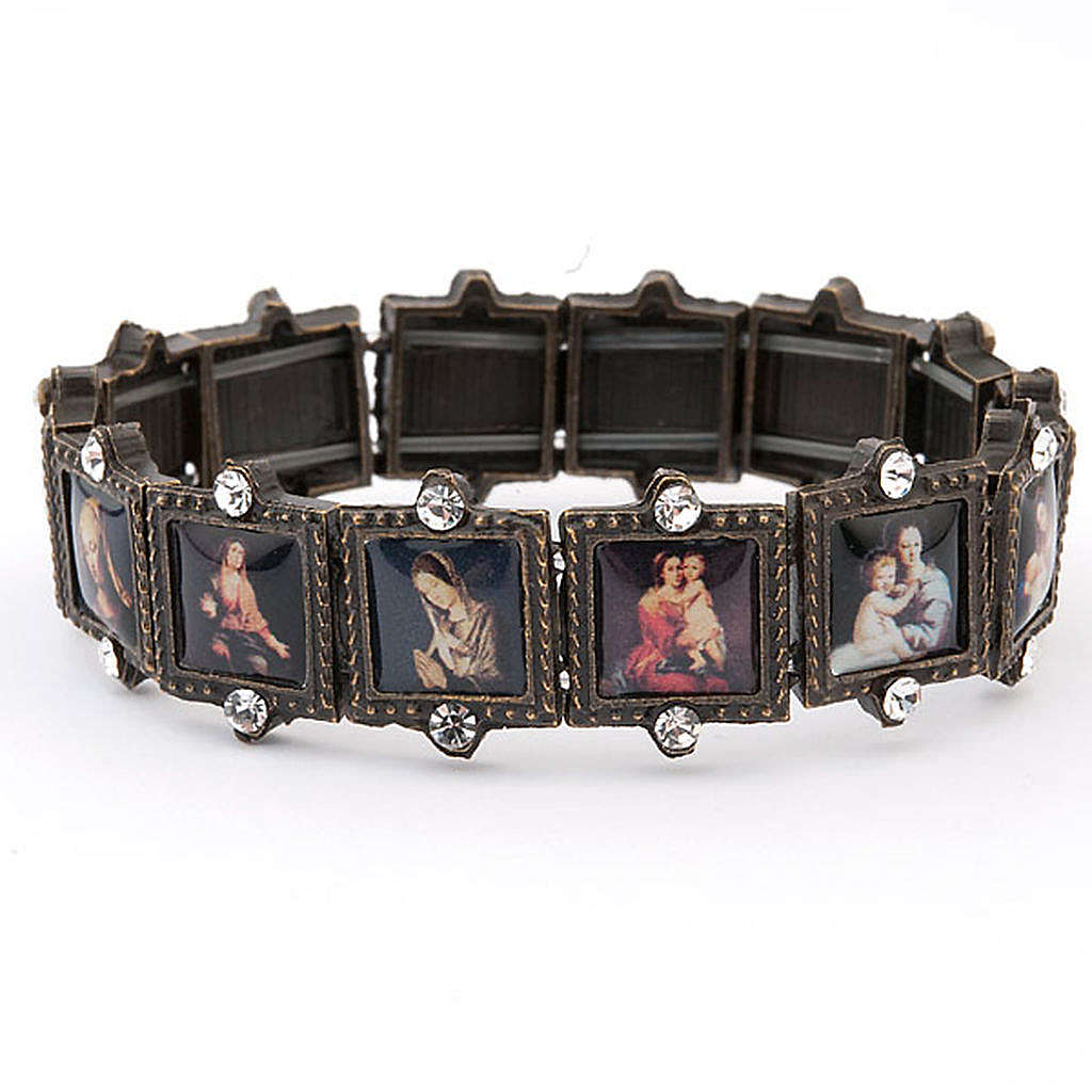 Multi-image bracelet with strass 4