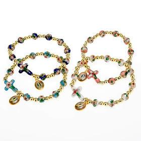 Cloisonné bracelet with image s1