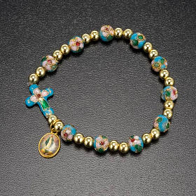 Cloisonné bracelet with image s4