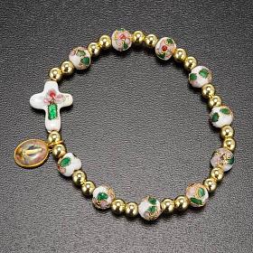 Cloisonné bracelet with image s5