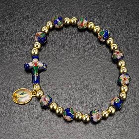 Cloisonné bracelet with image s7