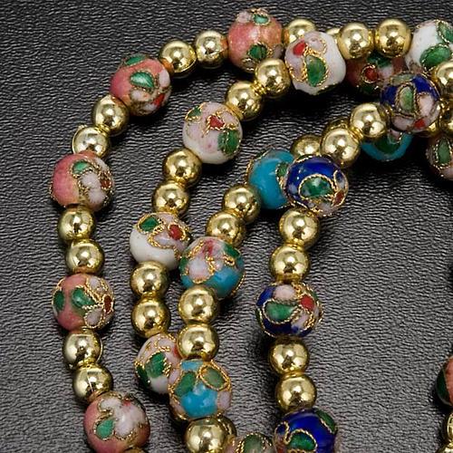 Cloisonné bracelet with image 3