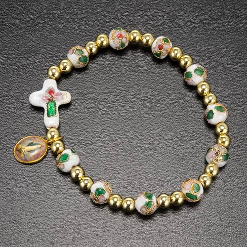 Cloisonné bracelet with image 5