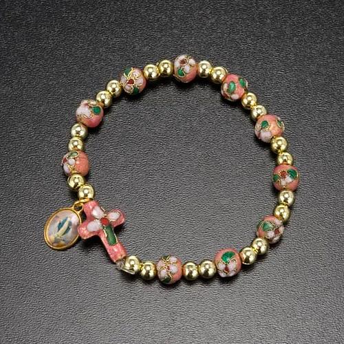 Cloisonné bracelet with image 6