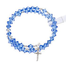 Bracciale rosario Swarovski e argento 925 s9