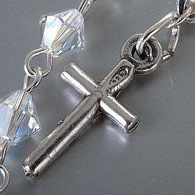 Bracelet-chapelet, à ressort,  perle bleu s4