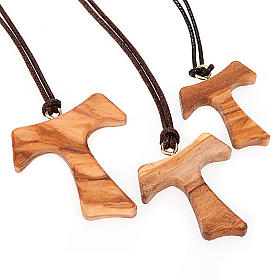 Tau cross pendants: Tau from Assisi