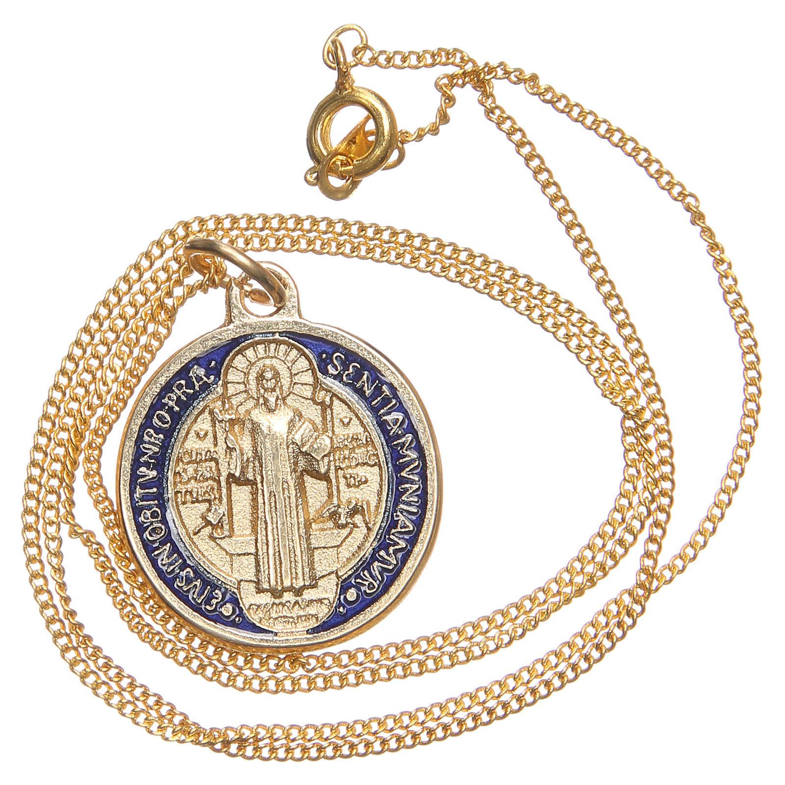 Croix pendentif,médaille S.Benoit 4