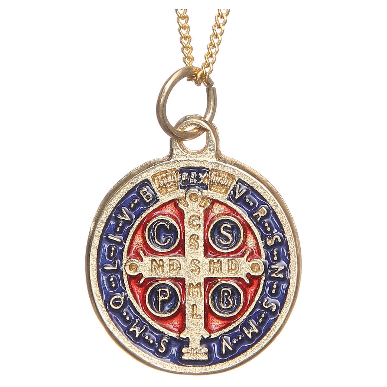 Medaglia di San Benedetto dorata 4