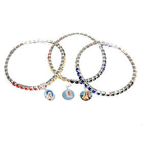 Bracelet cristal, missionnaire s6