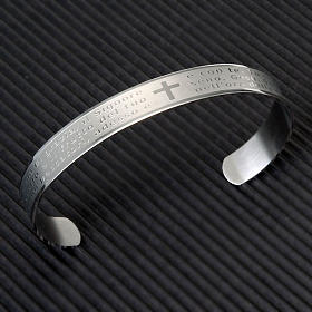 Bracelet prière, inox s2