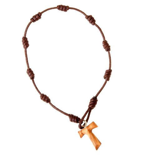 Armband Knoten und Tau-Kreuz 1