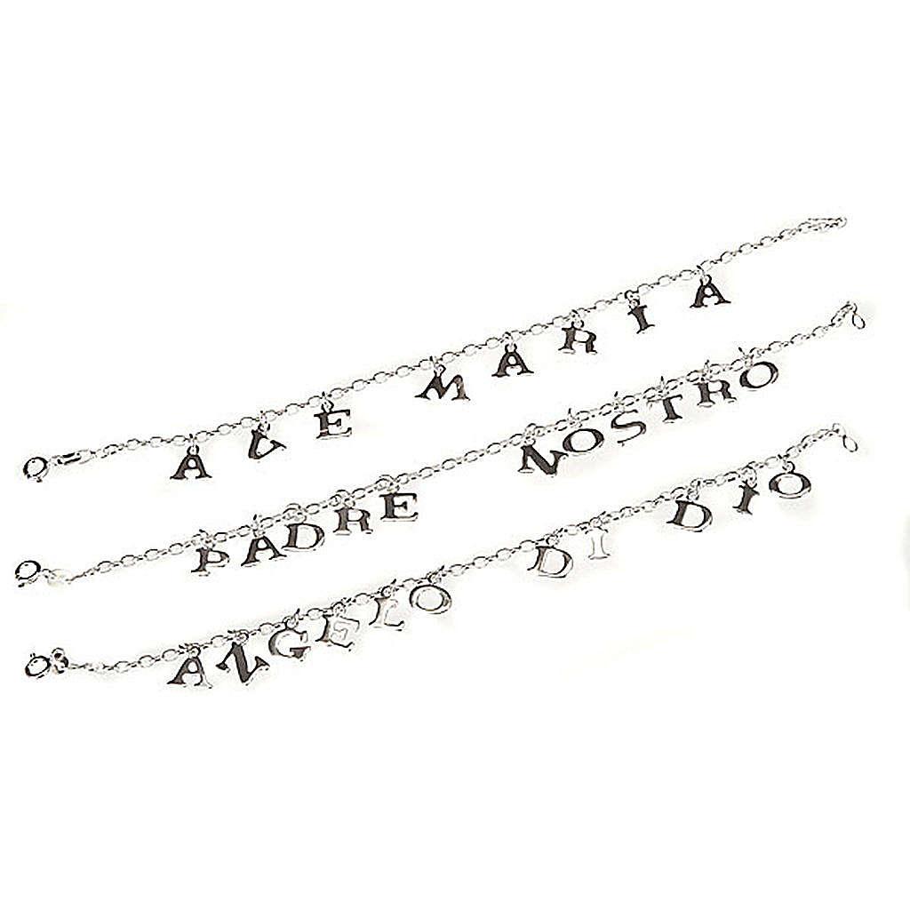 Religious bracelet silver 925 4