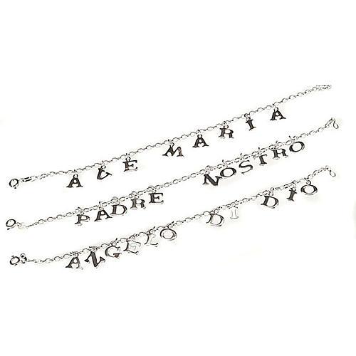 Religious bracelet silver 925 1