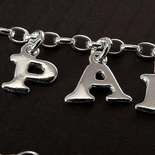 Religious bracelet silver 925 3