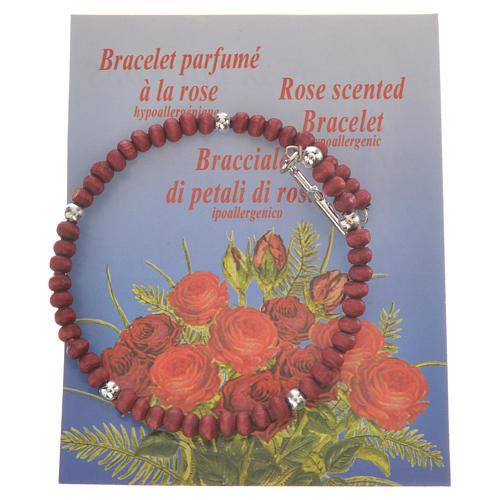 Ten-beads Rosary Bracelet perfumed wood 4mm 2