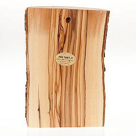 Bassorilievo legno Volto di Cristo occhi chiusi s2