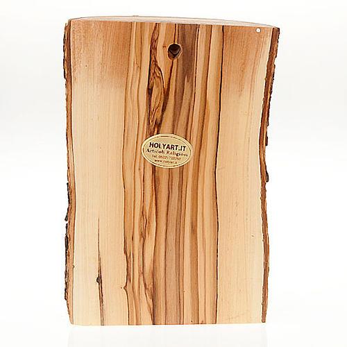 Bassorilievo legno Volto di Cristo occhi chiusi 2