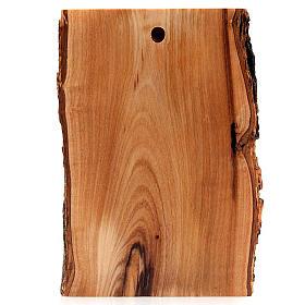 Bas relief en bois, visage du Christ, les yeux ouverts s3
